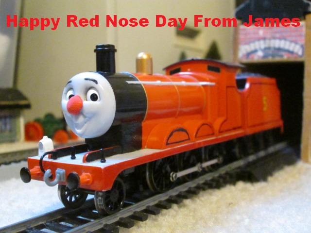 Happy Red Nose Day From James by thomasformerswars101