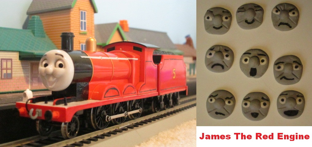 Bachmann James The Red Engine by thomasformerswars101