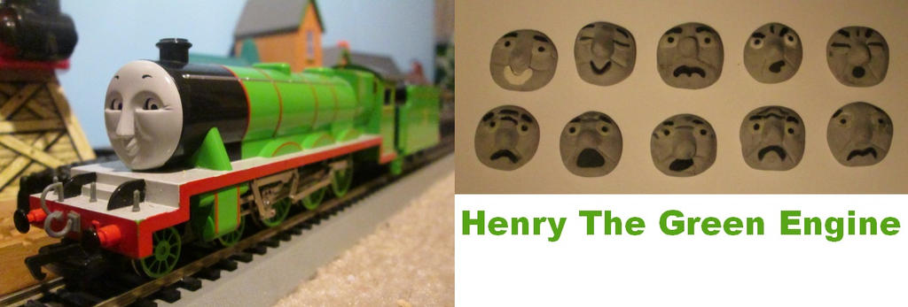 Bachmann Henry The Green Engine by thomasformerswars101