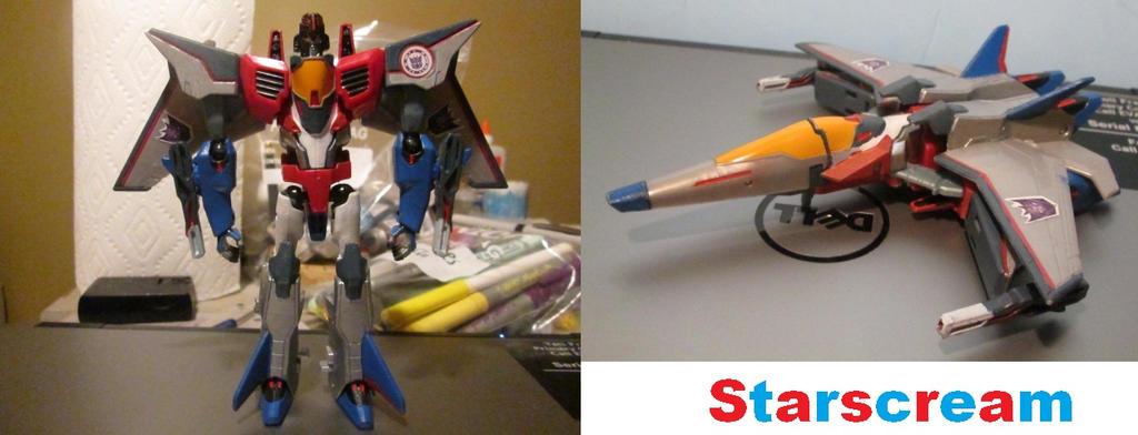 my customized RID starscream. by thomasformerswars101