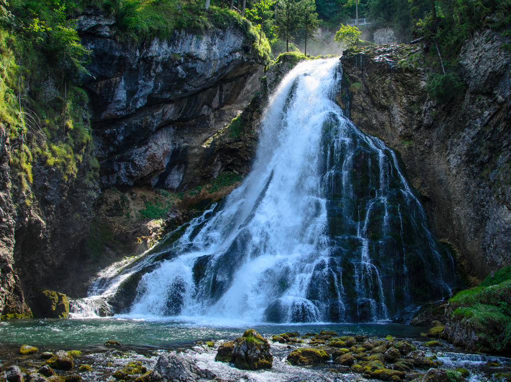 Stock 042 (Large Waterfall 1/2) by Einheit00