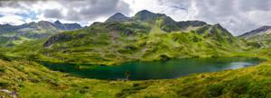 Stock 054 (Lake and Mountain Panorama) by Einheit00