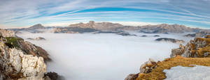 Stock 87 (above the clouds panorama)