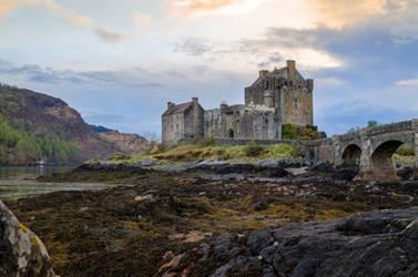 Stock 236 Eilean Donan Castle by Einheit00