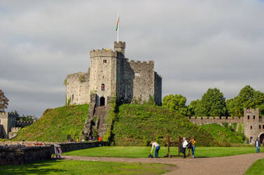 Stock 310 Cardiff Castle by Einheit00