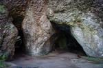 Stock 377 Cushendun Caves