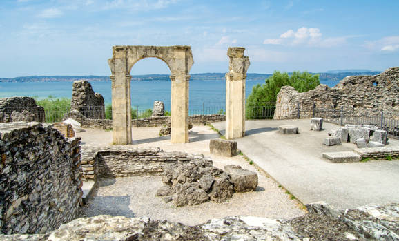 Stock 415 Roman Ruin