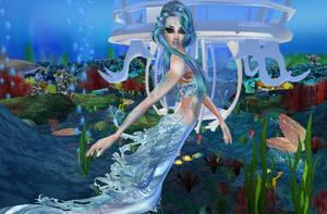 New sense bonus pic - mermaid 6 by Worldoftg