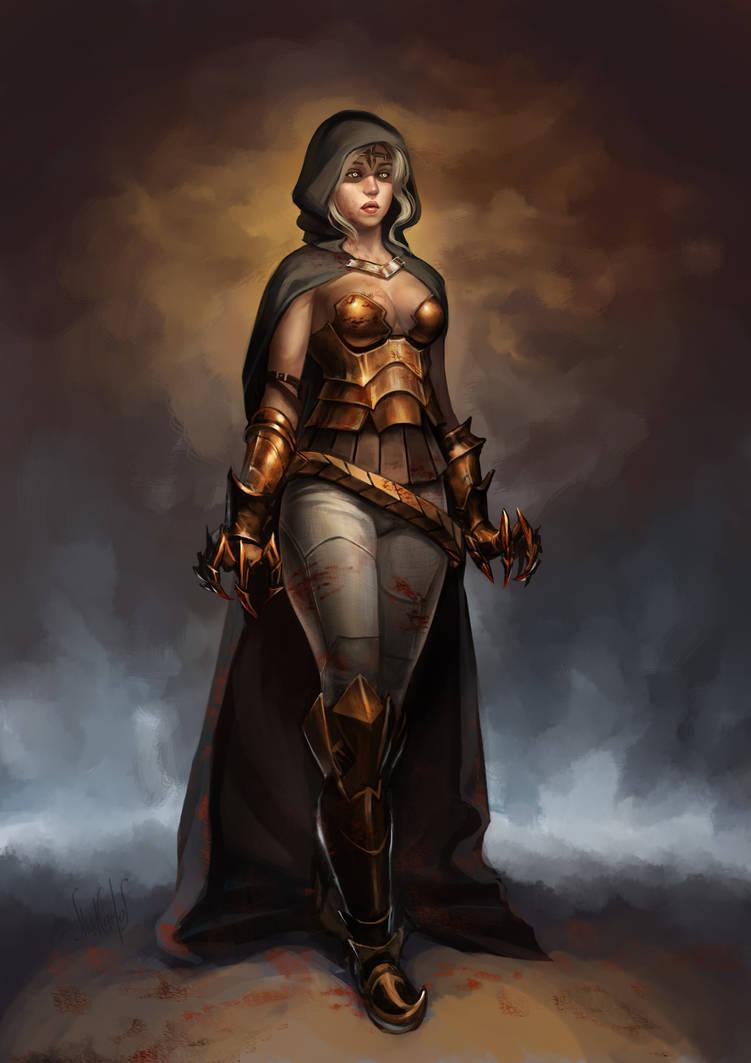 Harpy Goddess