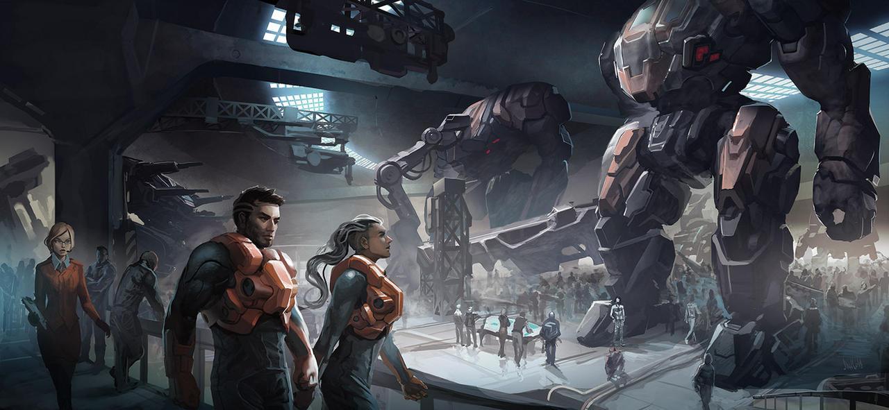 Hangar - Armored Gen by ShadCarlos