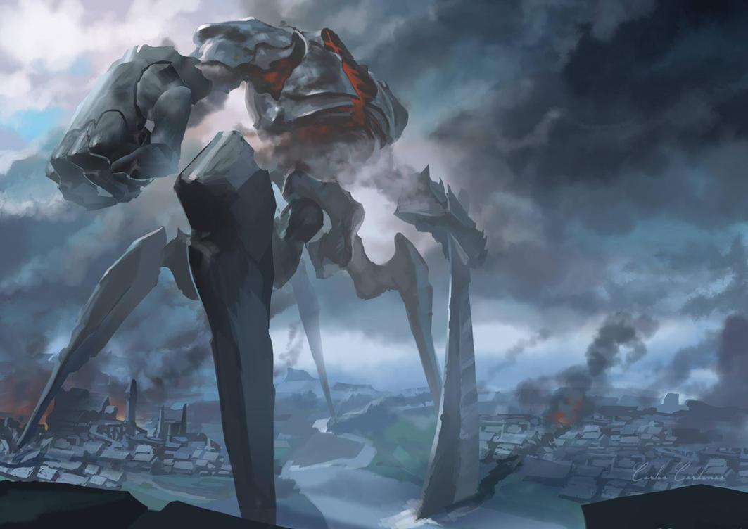 Evil Colossus by ShadCarlos