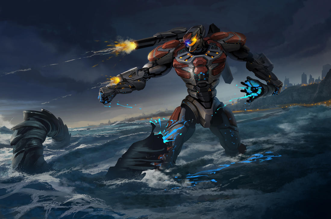 Pacific Rim Contest - Iron RuPAC by ShadCarlos