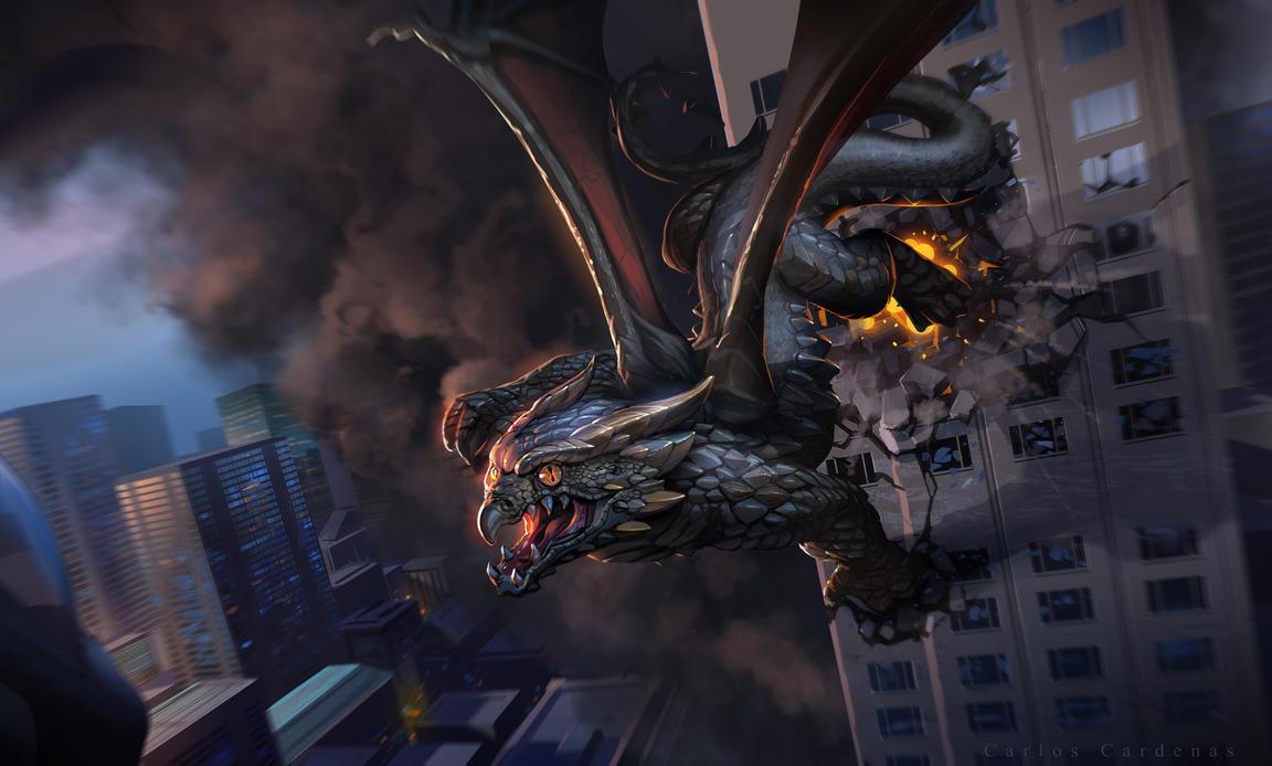 Dragon by ShadCarlos