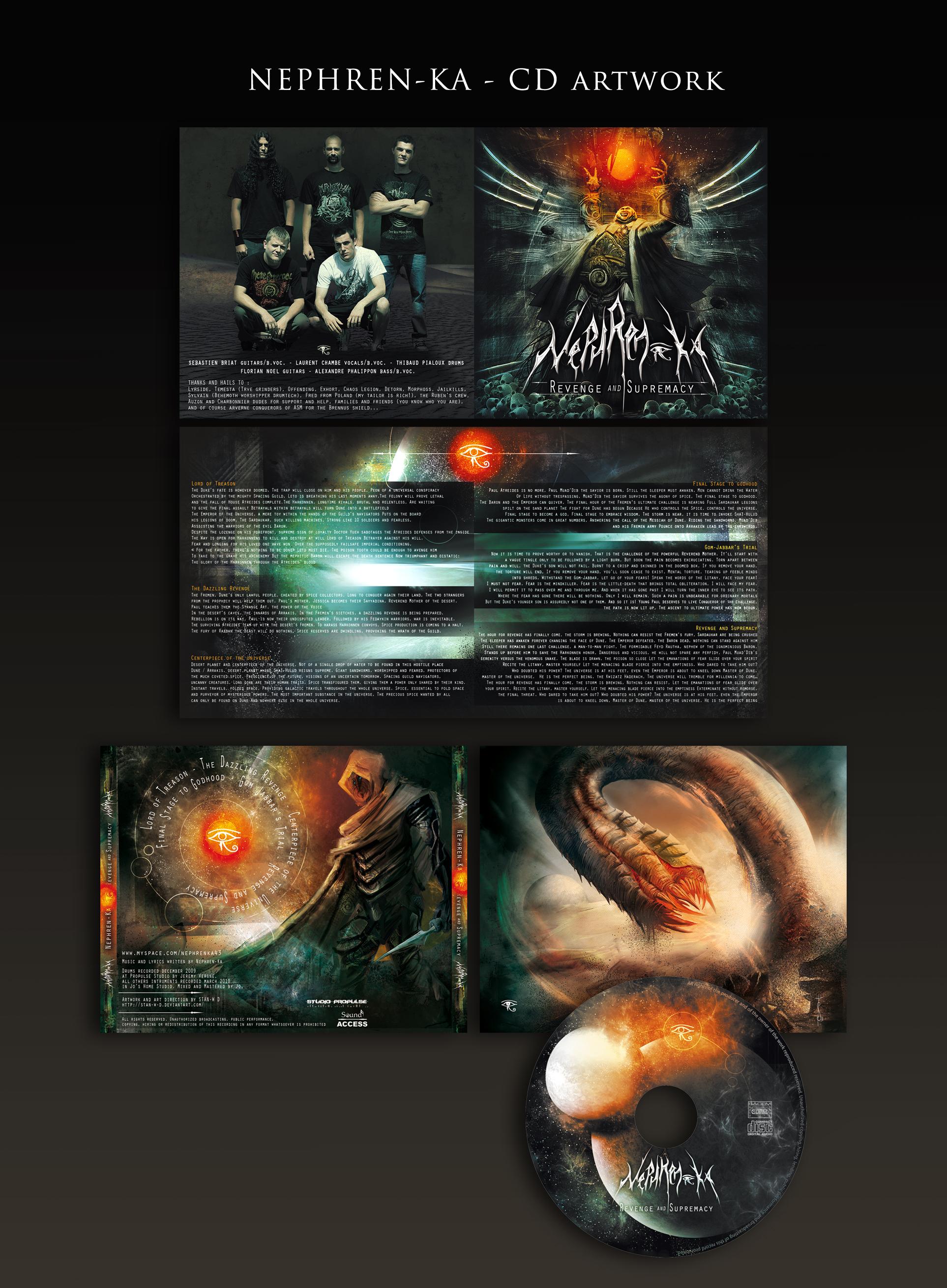 NEPHREN-KA - Cover - CD layout by stan-w-d on DeviantArt