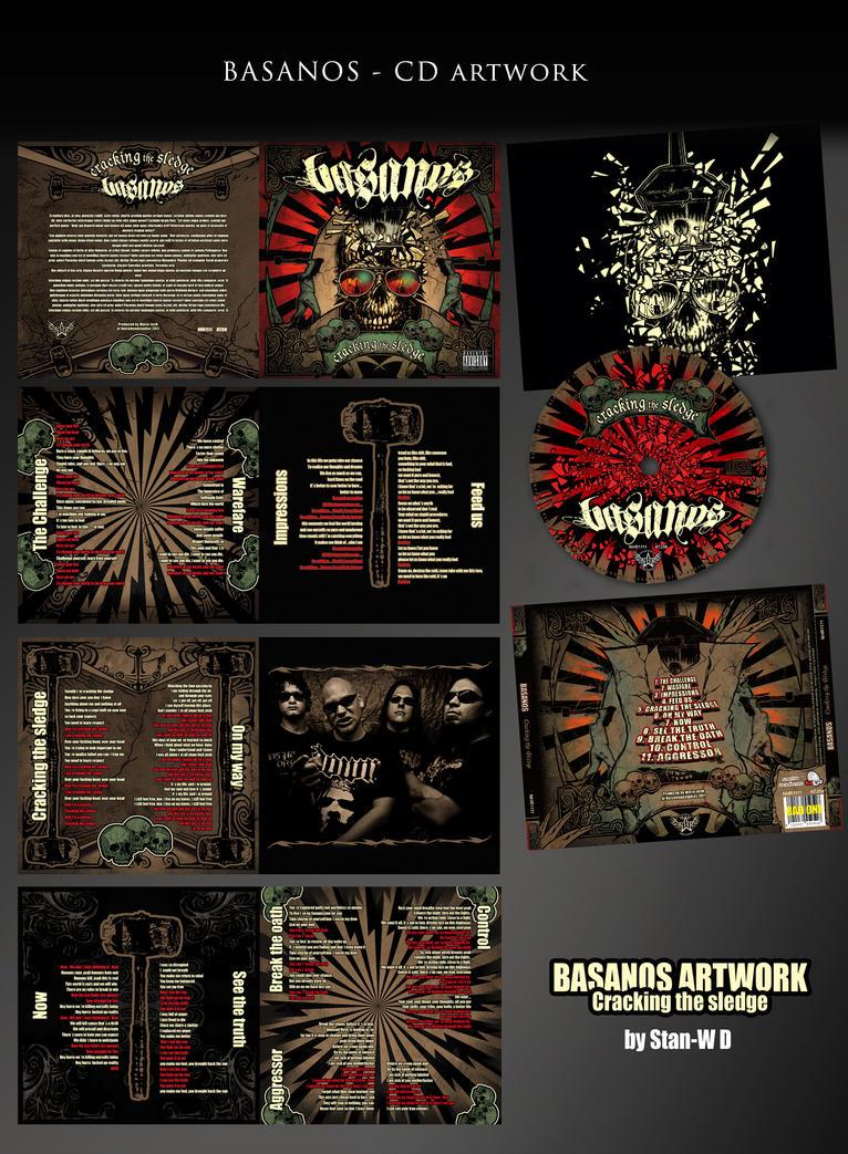 BASANOS - METAL CD Layout by stan-w-d on DeviantArt
