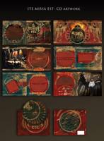 ITE MISSA EST - CD layout by stan-w-d
