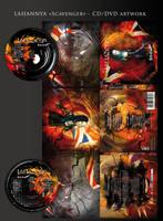 LAHANNYA - Scavenger CD art by stan-w-d