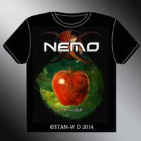NEMO - le ver dans le fruit - T-SHIRT Design