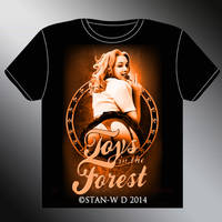 TOYS IN THE FOREST - T-Shirt model