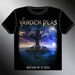 VANDEN PLAS - T-Shirt Model second design