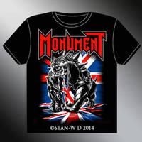 MONUMENT - T-Shirt design new album
