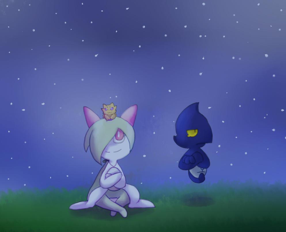 AT: Star gazing by Kari-chan622
