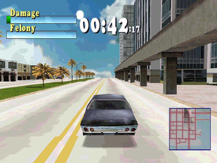 تحميل لعبة Driver اشهر لعبه فى البلاى ستيشن 1 بحجم 70 ميجا فقط