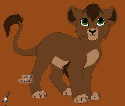 Kovu by werewolflion