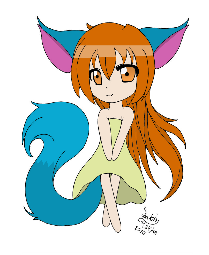 Anime Fox Girl Chibi Download