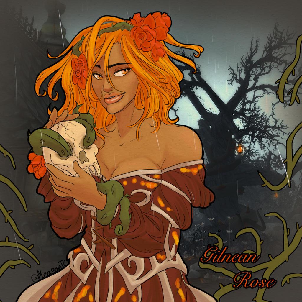 Gilnean Rose by DoomGirlMeg
