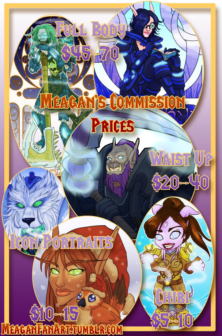 CommissionPrices by DoomGirlMeg