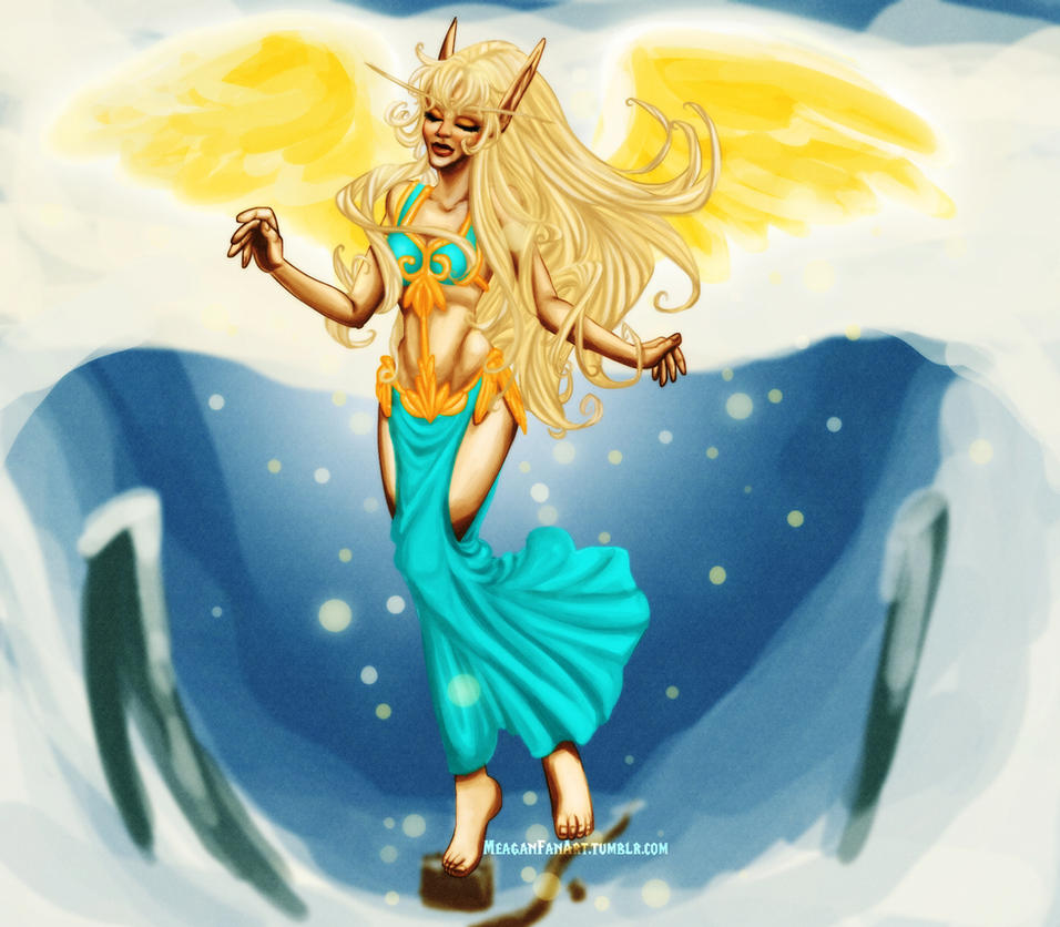 On Borrowed Wings by DoomGirlMeg