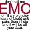 emo by XXcupcakeXdinoXX