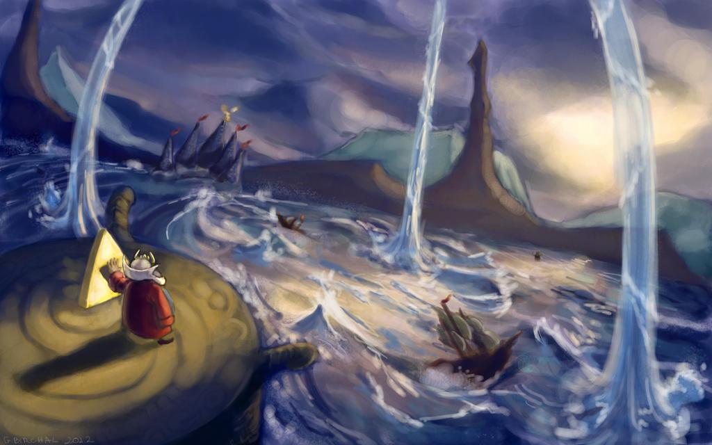The great flood by Gabriela-Birchal