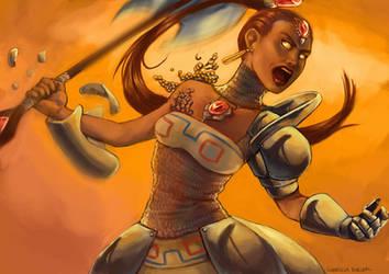 Iron Knucle Nabooru by Gabriela-Birchal