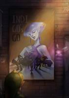 Indigo's Go by Gabriela-Birchal