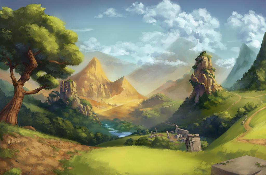 Verilion Forest by Gabriela-Birchal