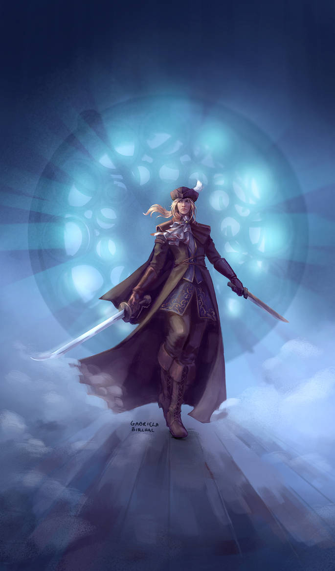 Lady Maria of the Astral Clocktower by Gabriela-Birchal