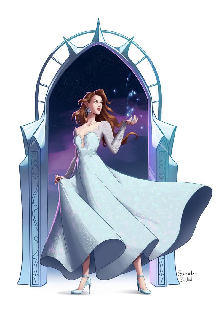 Feyre Starlight by Gabriela-Birchal