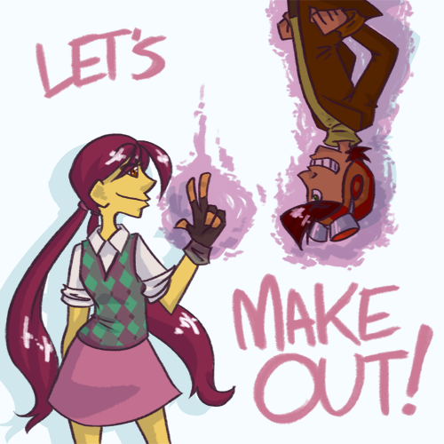 PSYCHONAUTS: Let's make Out! by zerolicious