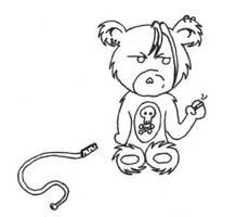 Scary Bear by sindra