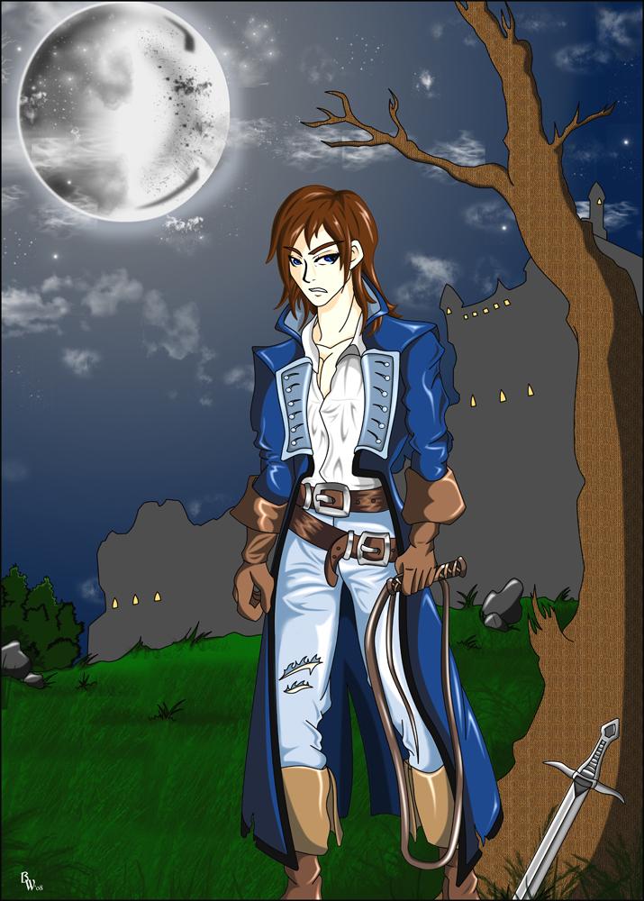 Richter Belmont - Vampire Hunt by sindra