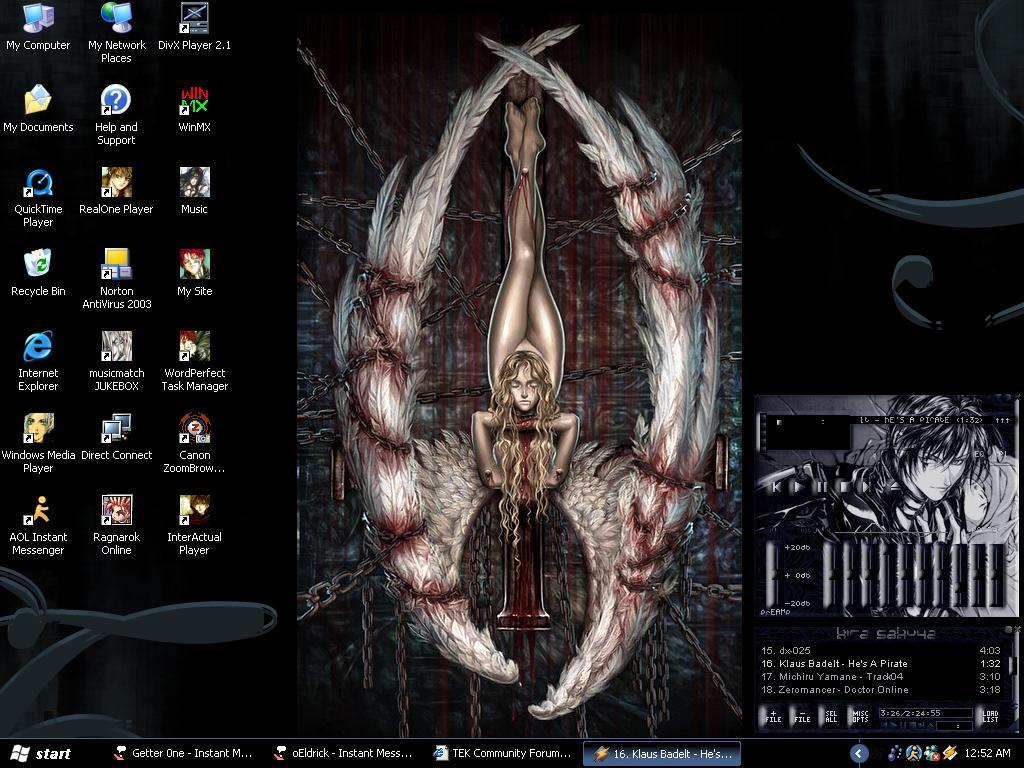 New Desktop by sindra