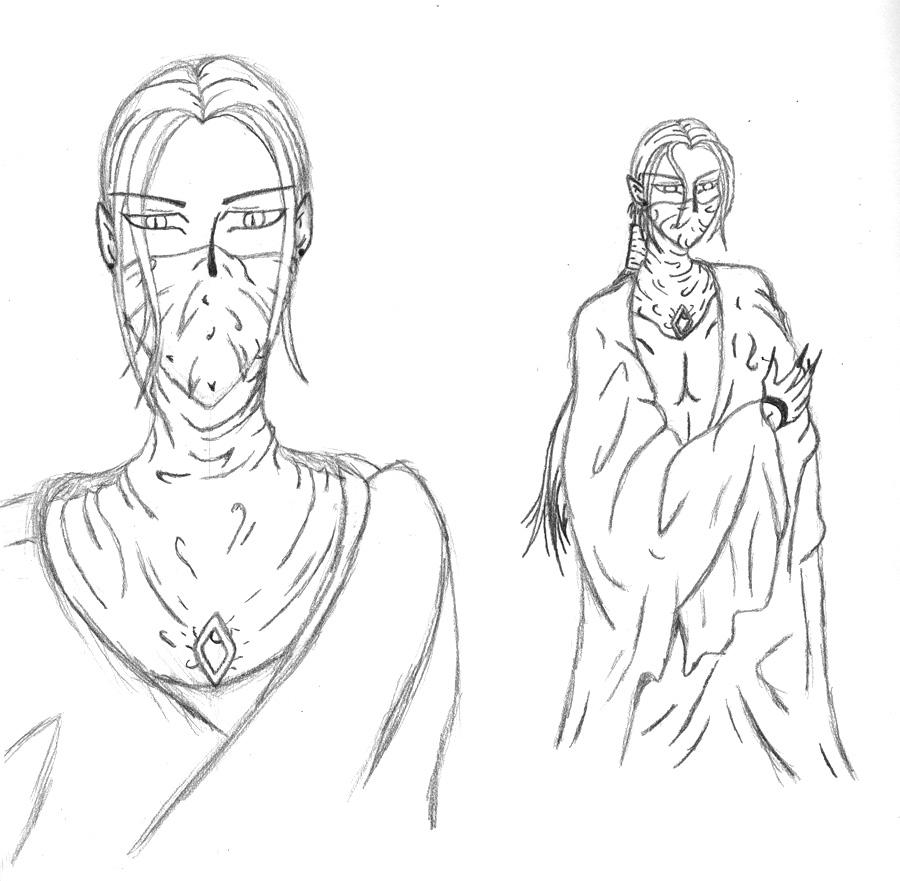 More Adarnis Sketches by sindra