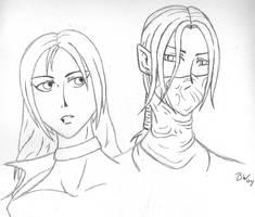 Sin 'n Adarnis - sketch by sindra