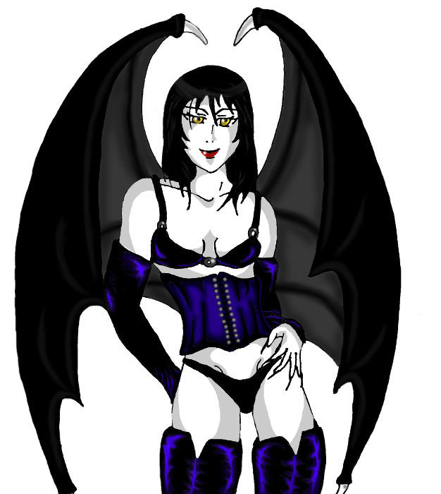 Cynical Succubi - gift by sindra