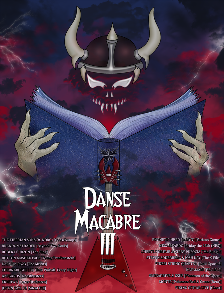 Viking Guitar Productions - Danse Macabre 3 Art by sindra