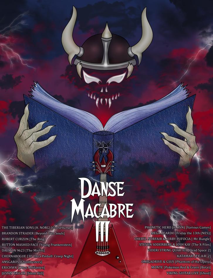 Viking Guitar Productions - Danse Macabre 3 Art