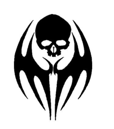 Skull Tribal Tat by sindra