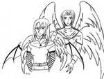 Winged Couple